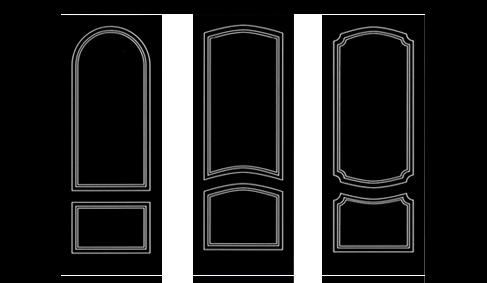 Pannelli porta pantografati Profil Porte