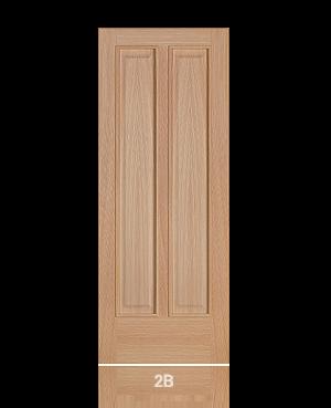 Pannello porta in tranciato modello 2B