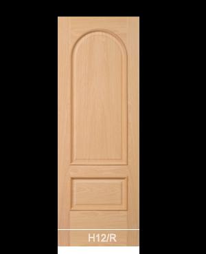 Pannello porta in tranciato modello H12/R