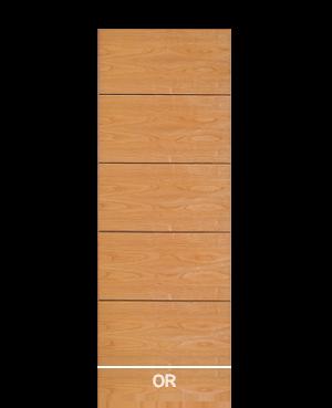 Pannello porta in tranciato modello OR