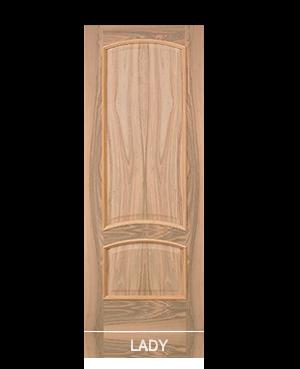 Pannello porta in tranciato modello Lady