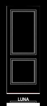 Pannello porta pantografato modello Luna