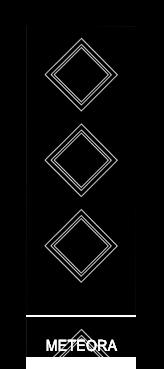 Pannello porta pantografato modello Meteora