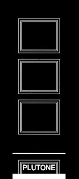 Pannello porta pantografato modello Plutone