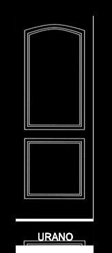 Pannello porta pantografato modello Urano