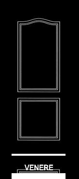 Pannello porta pantografato modello Venere